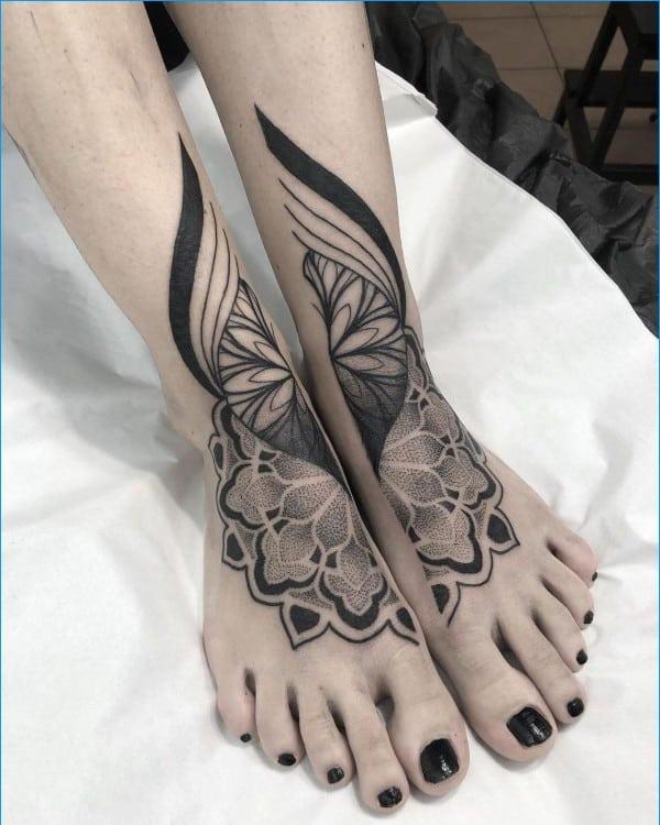 50+ Amazing & Unique Foot Tattoos Designs & Ideas For Everyone