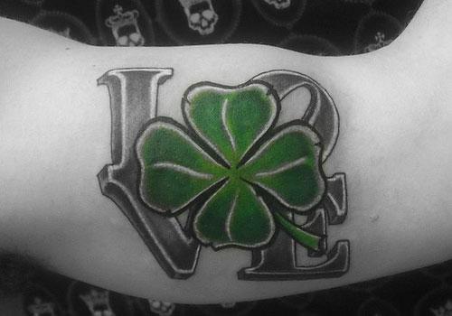 Tatuajes de trebol