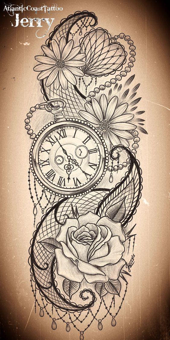 Vintage Men Tattoos Owl