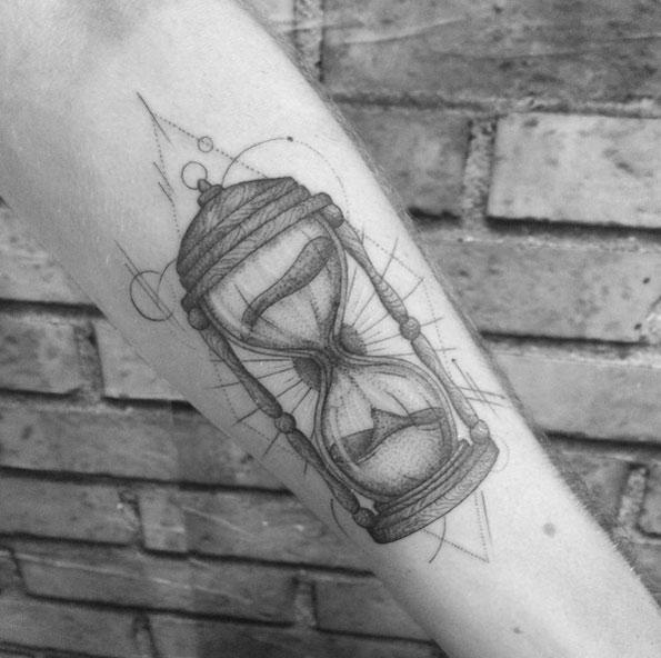 Tatuajes de Reloj de Arena