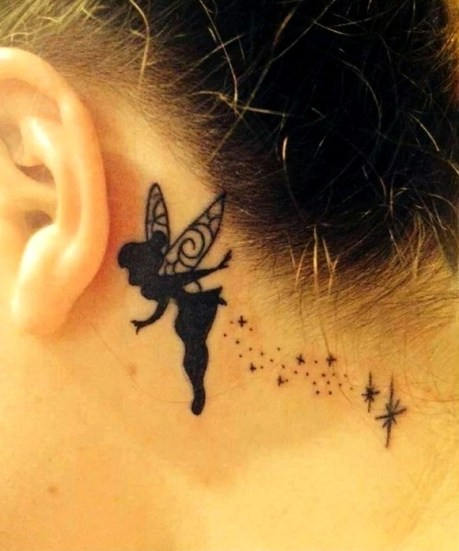 Tatuajes de hadas pequeñas