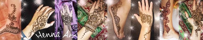 Tatuajes temporales con Henna para eventos