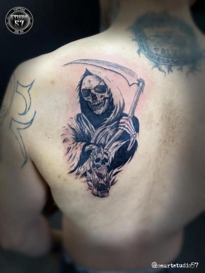 Tatuaje realizado en el estudio Old Gangsters Tattoo Shop ...