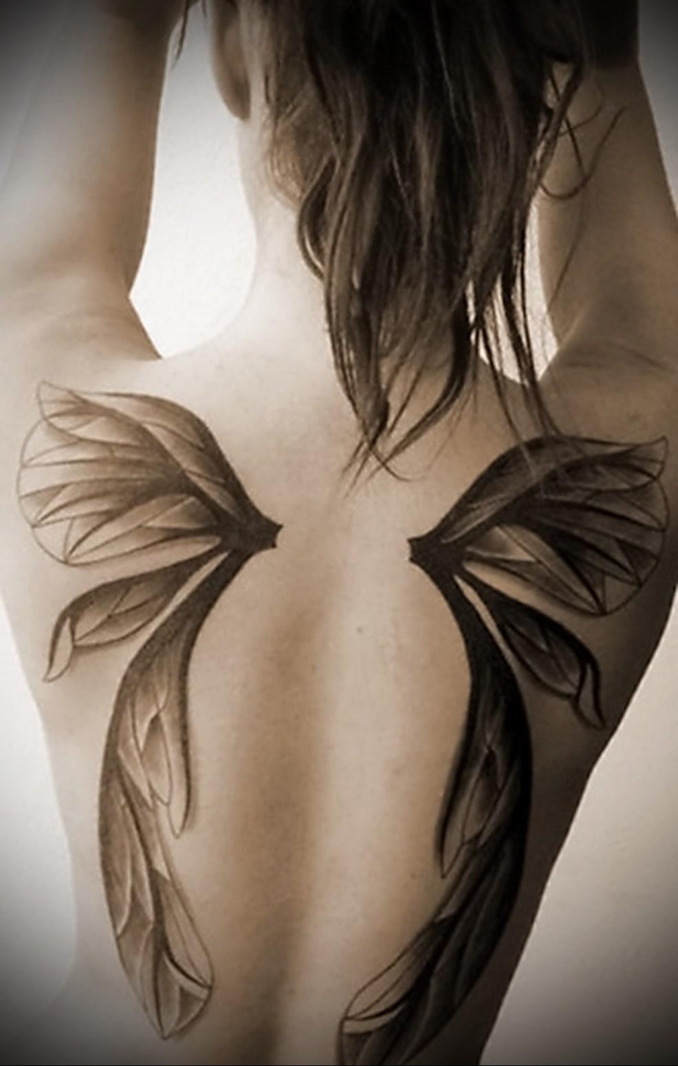 татуировка на всю спину мужские фотографии