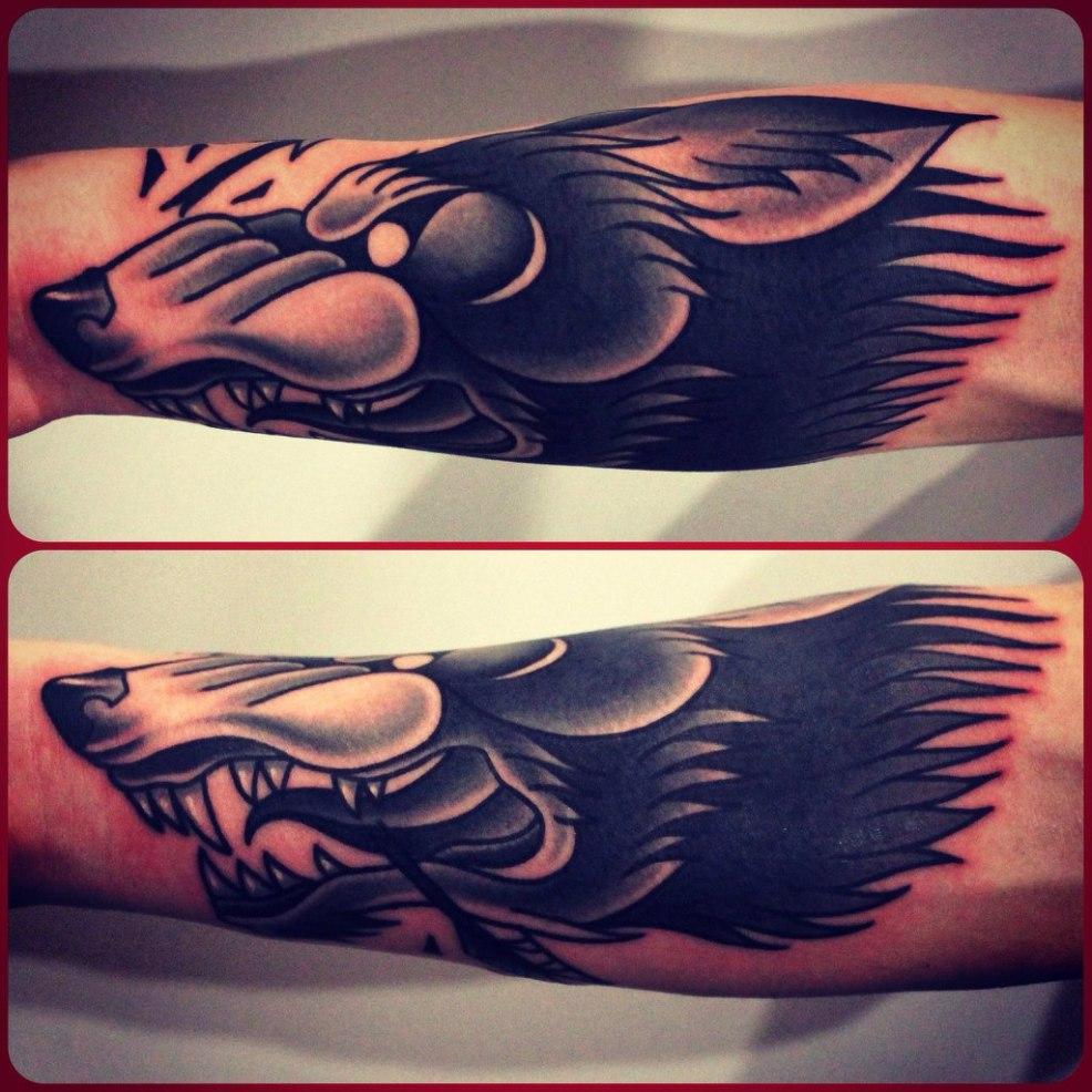значение татуировки волк Tatufotocom