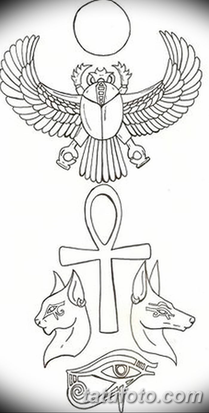 фото эскиз тату анкх от 27042018 004 Sketches Of Ankh Tattoo