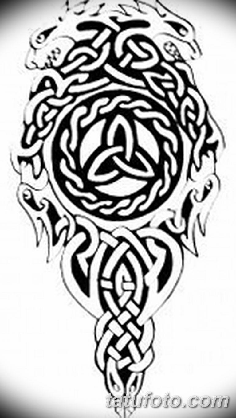 кельтские тату эскизы на руку 08032019 001 Tattoo On Hand