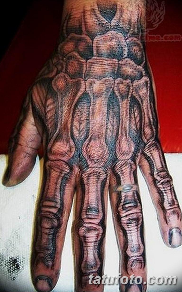 фото тату кисть руки скелет 26032019 010 Tattoo Hand Skeleton