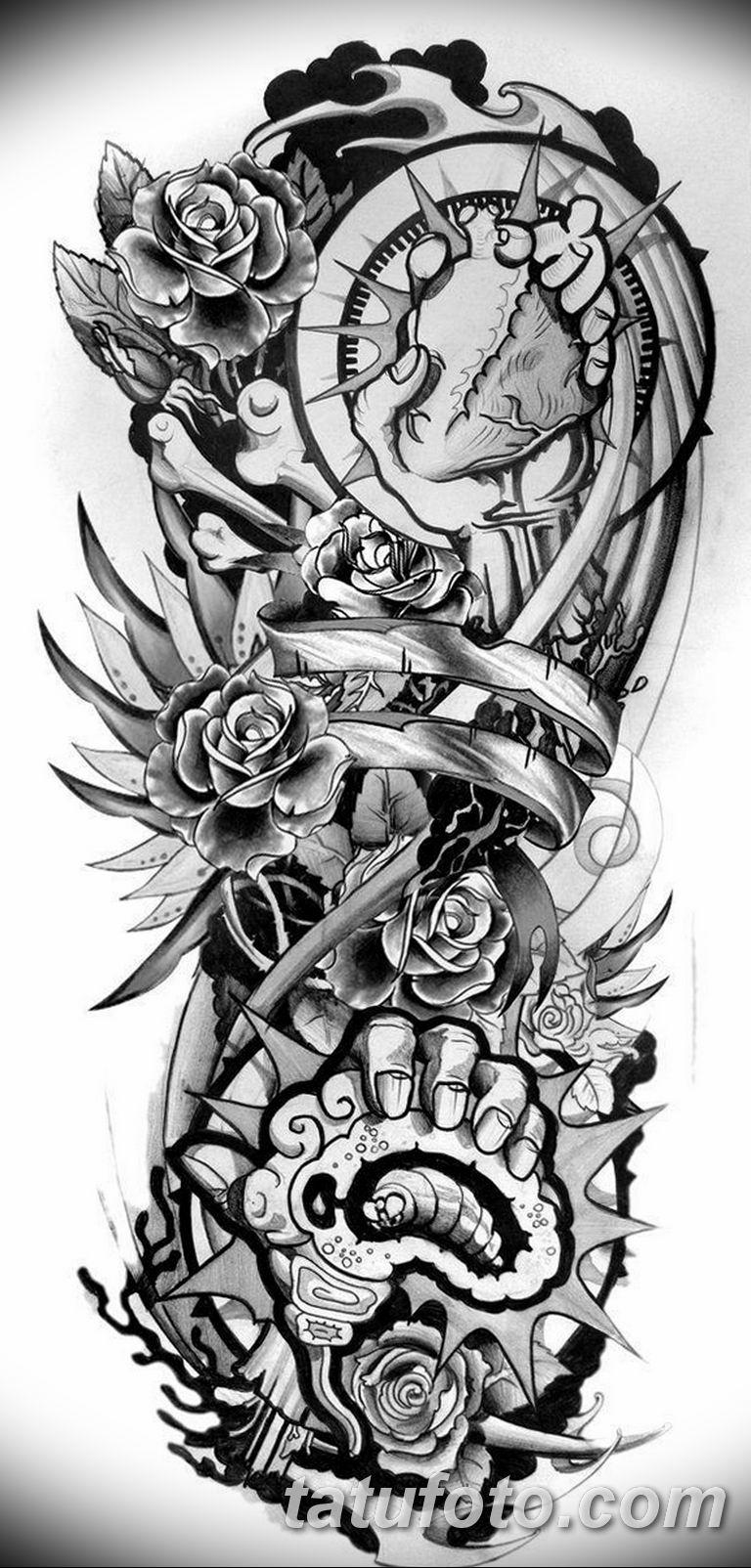 эскизы тату для мужчины 09032019 036 Tattoo Sketches For Men