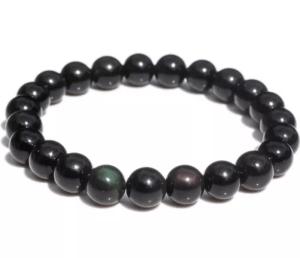Bracelet Obsidienne Œil Céleste 8mm