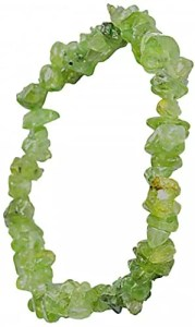 Bracelet péridot baroque