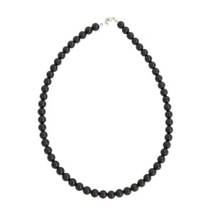 Collier Tourmaline noir