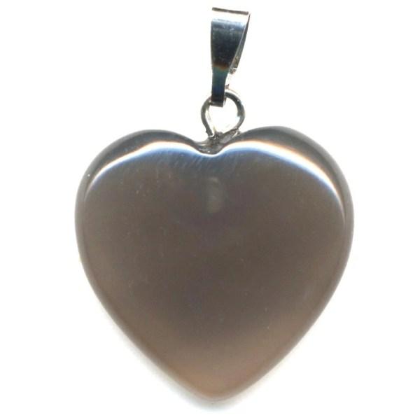 Pendentif coeur agate