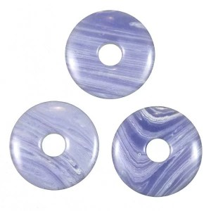 Donuts Calcédoine bleu