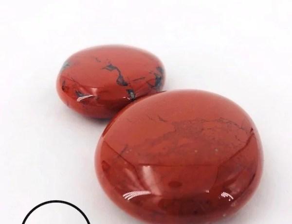 Jaspe rouge en galets