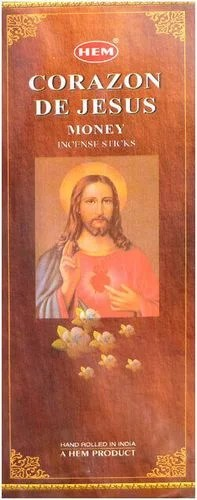 Encens HEM Jesus Sacré Coeur 20g