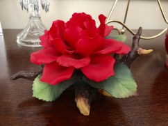 Decorative Red Flower
