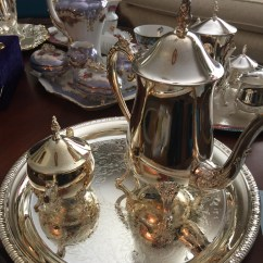 Several tea/coffee sets