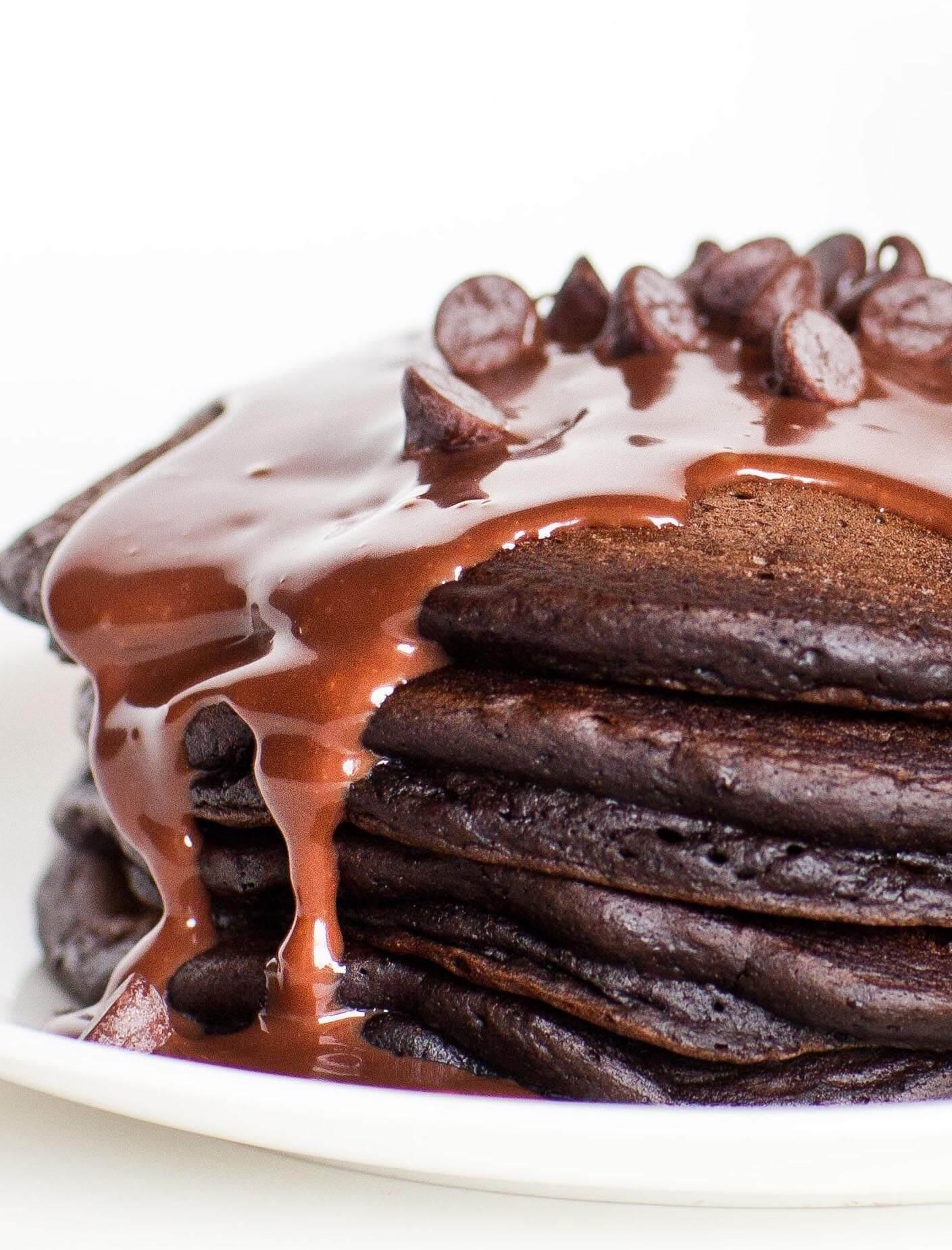 Triple Chocolate Pancakes Tatyanas Everyday Food