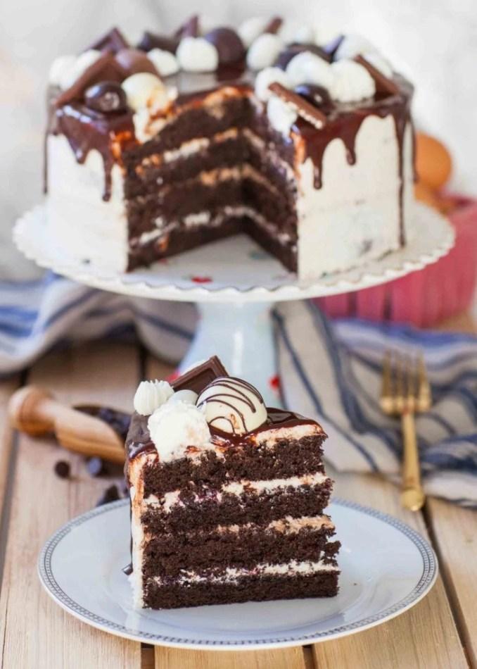 Ultimate Chocolate Sponge Cake Recipe (video) - Tatyanas
