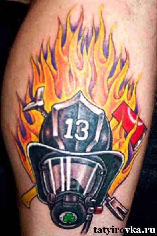 Тату-огонь-и-их-значение-16