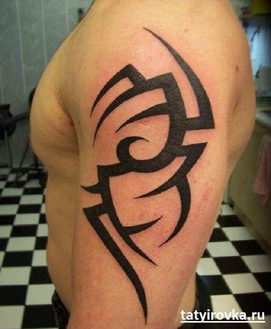 Черно-белые-татуировки-и-их-значение-7