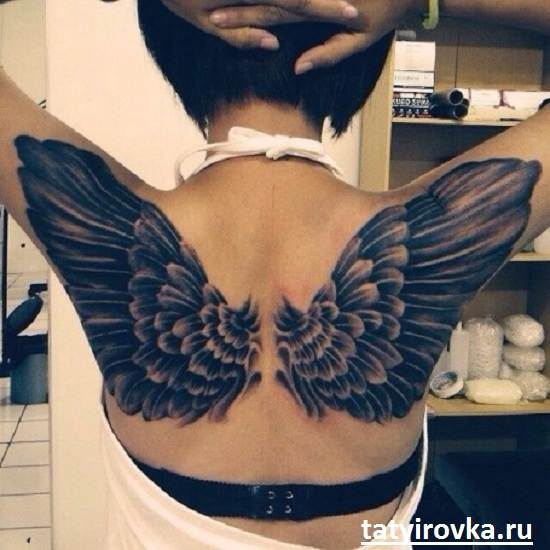 Тату-крылья-и-их-значение-10