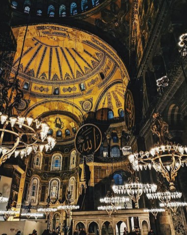 Hagia Sophia, Fatih Istanbul Turkey - Byzantine architecture, Classical architecture, Dome, Holy places, Mosque