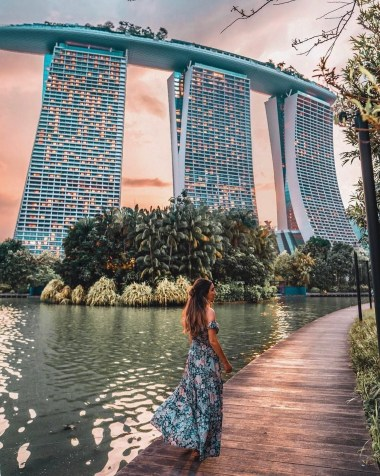 Gardens by the Bay, Singapore Central Singapore - Lake, Person