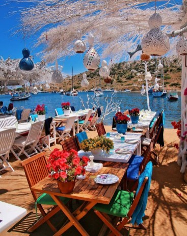 Istanbul, Istanbul Istanbul Turkey - Outdoor table, Restaurant, Table