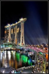 Gardens by the Bay, Singapore Central Singapore - Cityscape, Night
