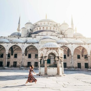 The Blue Mosque, Fatih Istanbul Turkey - Mosque, Person