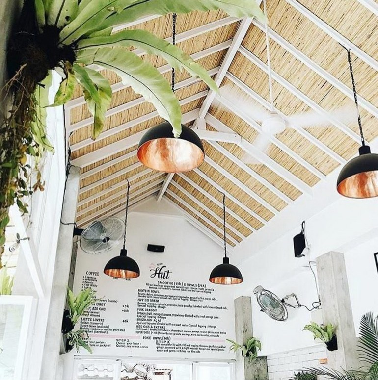 Canggu North Kuta Indonesia - Botany, Ceiling, Ceiling fixture, Fruit tree, Home accessories, Lampshade, Light fixture, Lighting accessory, Outdoor structure, Peach, Produce