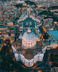 Vatican City,   Italy - Building, City, Cityscape, Infrastructure, Landscape, Nature, Public space, Tower block, Urban design, Water, World