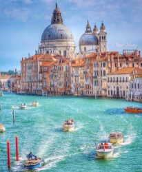 Venice, Venice Italy - Azure, Beach, Blue, Boat, Boats and boating--Equipment and supplies, Body of water, Building, Cloud, Daytime, Leisure, Sky, Summer, Travel, Vehicle, Water, Watercraft
