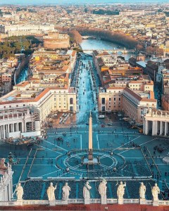 Vatican, Rome Rome Italy - Azure, Blue, Building, Cityscape, Infrastructure, Landscape, Neighbourhood, Residential area, Roof, Sky, Thoroughfare, Tower, Tower block, Urban design, Water, Window