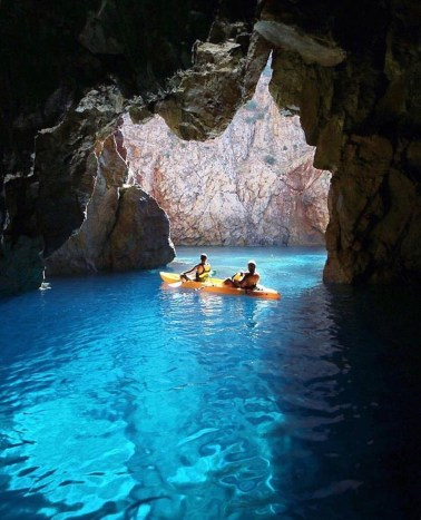 Iglesias, Sardinia South Sardinia Italy - Boat, Boats and boating--Equipment and supplies, Coastal and oceanic landforms, Fluvial landforms of streams, Fun, Lake, Leisure, Oar, Outdoor recreation, Paddle, Recreation, Sea cave, Underground lake, Water, Water resources, Watercourse, Watercraft