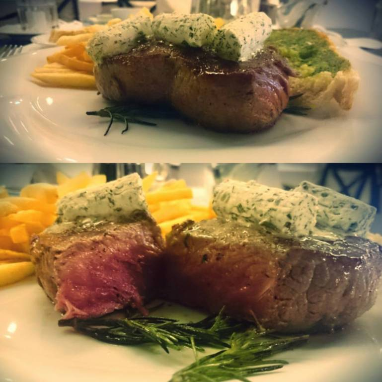 Rumpsteak Medium Rare --> Perfekt 😀 @ Holiday Inn Minden