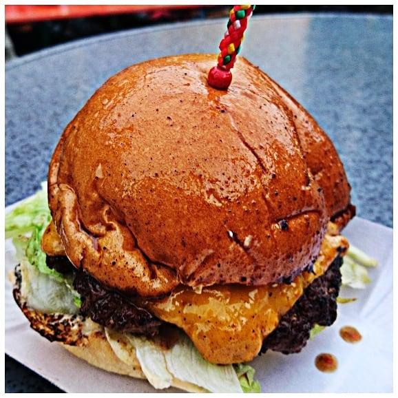 L.A. Smash Cheeseburger
