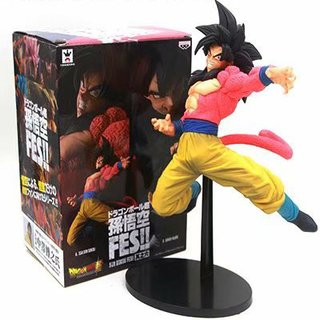 DRAGON BALL SUPER - SON GOKU FES SPECIAL - SUPER SAIYAN 4 SON GOKU - BANPRESTO FIGURE 15CM