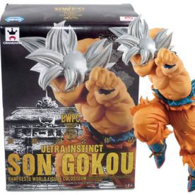 DRAGON BALL SUPER - WORLD FIGURE COLOSSEUM SPECIAL - SON GOKU ULTRA INSTICT 15CM