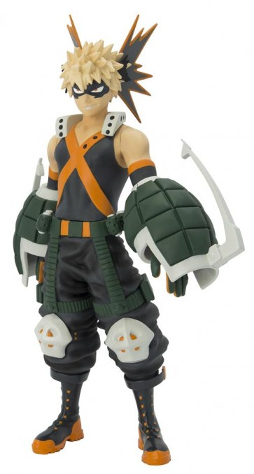MY HERO ACADEMIA - SUPER FIGURE COLLECTION - KATSUKI BAKUGO FIGURE 17CM