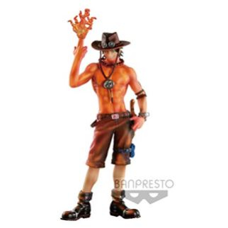 ONE PIECE - SCULTURES FIGURE LINE - PORTGAS D. ACE - BURNING COLOR VER. - BANPRESTO STATUA 19CM