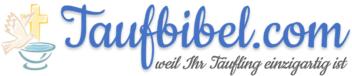 Taufbibel.com - personalisierte Taufbibel & Kinderbibel - Logo