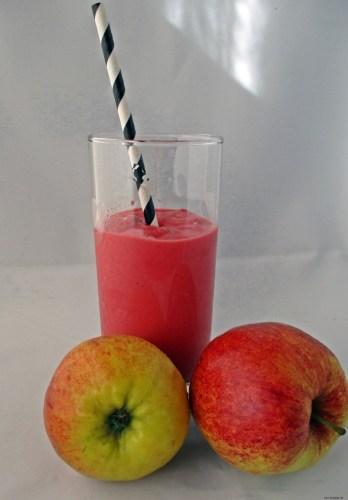 Apfel-Himbeer-Smoothie