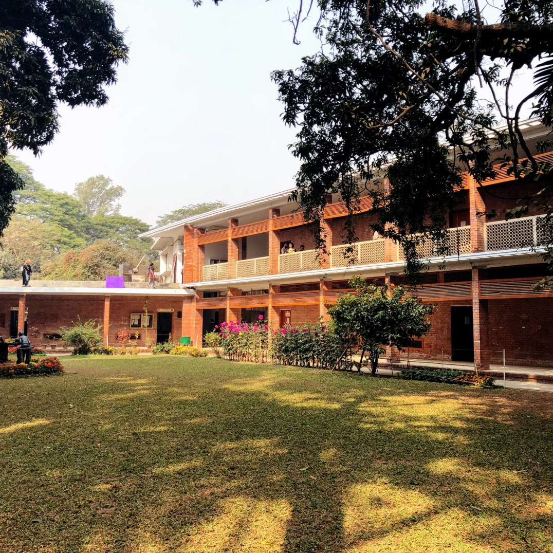 Fine Arts Department, Dhaka University, Muzharul Islam