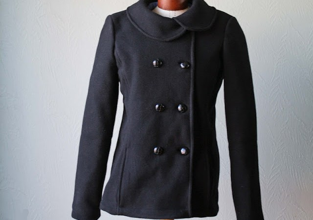 Wool Pea Coat Tutorial