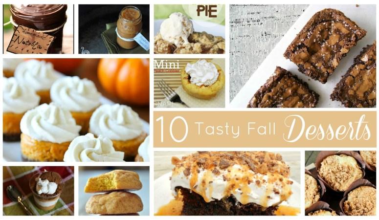 10 Great Fall Dessert Recipes