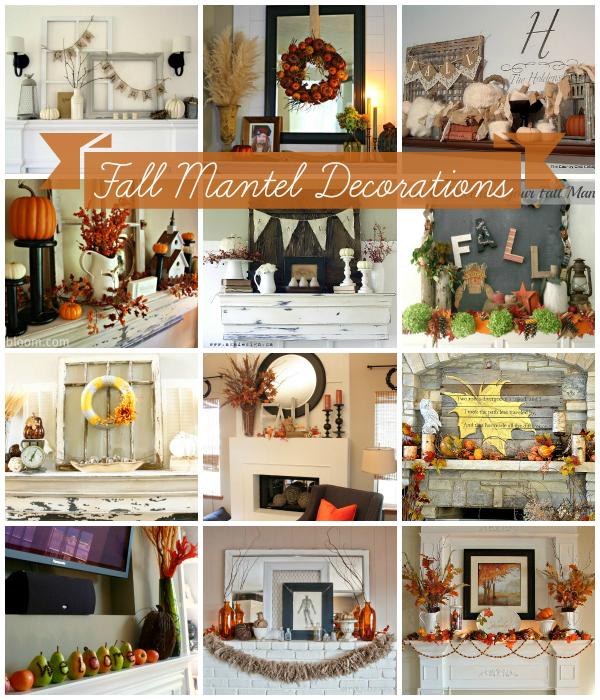 Fall Mantel Decorations