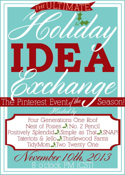 Holiday Idea Exchange